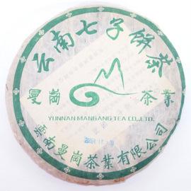 云南曼岗茶业 七子饼茶 2006年