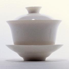 古玉瓷 蓋碗 (大)