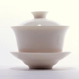 古玉瓷 蓋碗 (小)