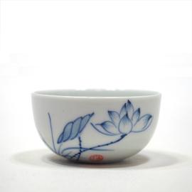 手描き青花 茶杯
