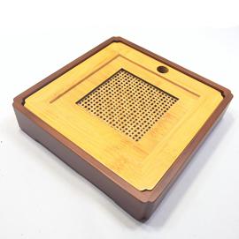 宜興方形竹茶盤