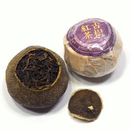 新会柑 青柑 古樹雲南紅茶