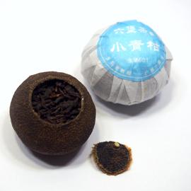 新会柑 青柑 六堡茶