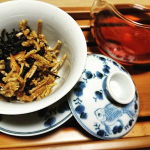 自家栽培陳皮普洱茶