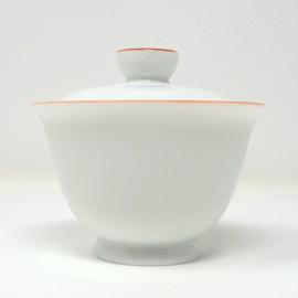 景徳鎮 白磁蓋碗