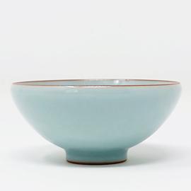 在山堂 劉傑 庚子柴窯粉青小品杯